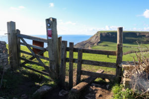Gate and stile for Chapman's Pool