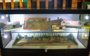 Models of Swanage Railway buildings