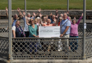 Members of the Friends of Swanage Bandstand campaign group