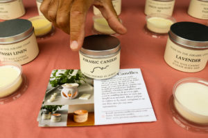 Hand-made candles from Dorset at Harman's Cross