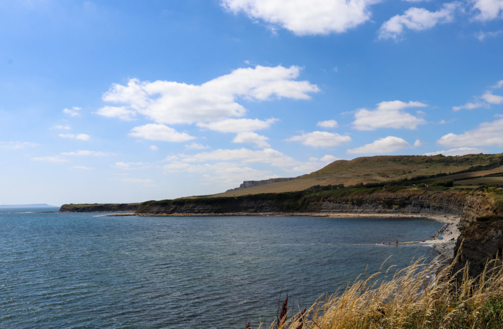 Kimmeridge Bay from the clifftop