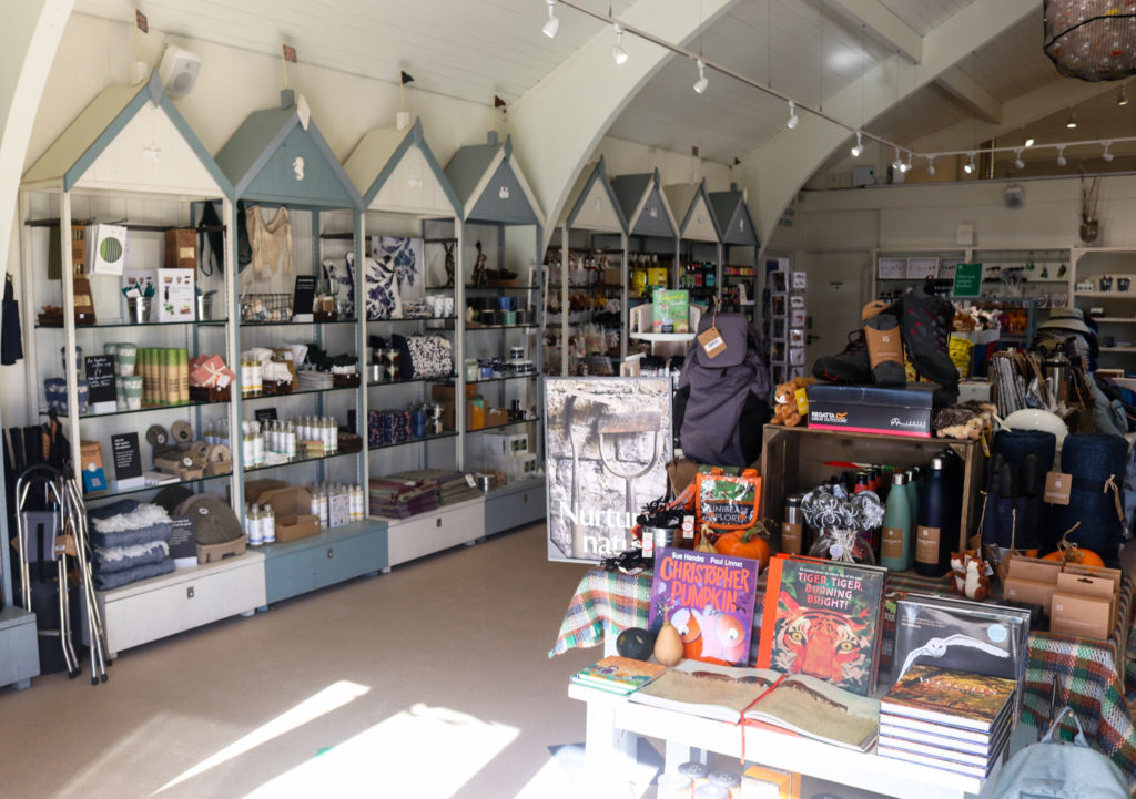 Knoll Beach national trust gift shop