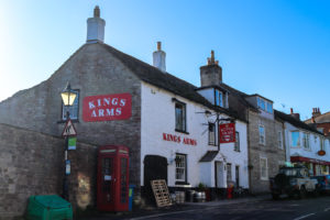 The King's Arms on the high street in Langton Matravers