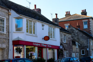 Langton Matravers' village shop and post office in Dorset