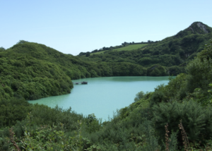 Disused China Pit, near St Austell