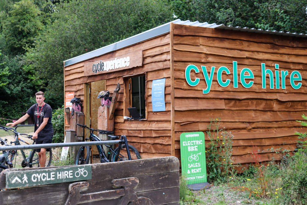 Cycle Experience bike hire at Norden railway station