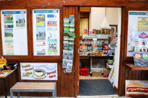 Small refreshments kiosk at Norden train station near Corfe Castle