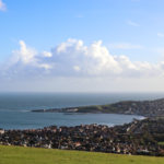 View across Swanage Bay taken from the obelisk