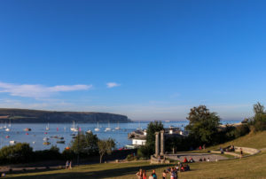 Swanage Bay viewed from Prince Albert Gardens