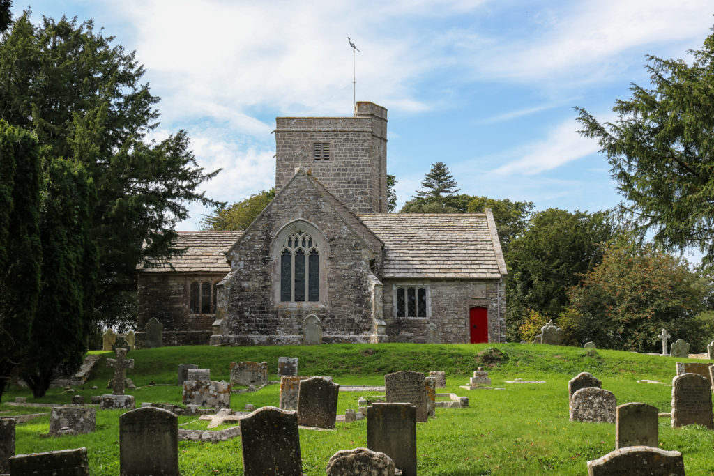 Steeple Church near Kimmeridge