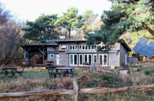 The education and learning Discovery Centre in Studland Bay