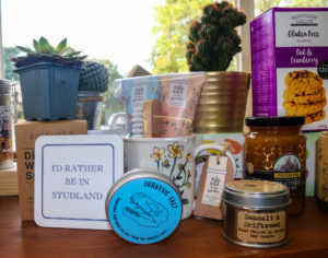Souvenirs and trinkets at Studland Stores