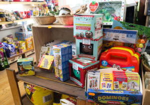 Children's toys at Studland Stores