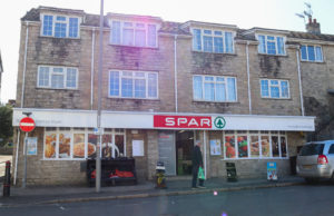 Spar shop on High Street, Swanage