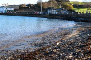 pebbles on Swanage's monkey beach