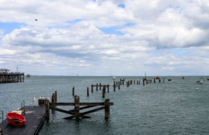 Swanage old pier near Peveril Point