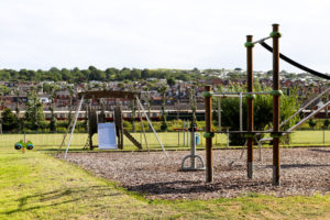Playground at King George's Field in Swanage