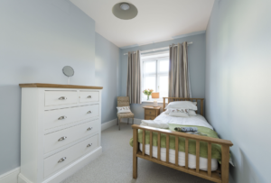 Single bedroom in Veronica Cottage, Anvil Point Lighthouse