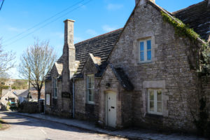 Outside view of the village hall in Worth Matravers