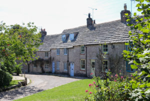 Cottages on London Row in Worth Matravers