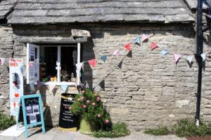Worth Matravers Tea & Supper Rooms' takeaway window