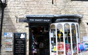 Traditional sweet shop in Corfe Castle Village