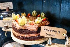 Chocolate cake at the Bear Love Cake Wareham
