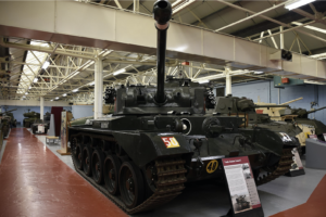 The A34 Cruiser Tank Comet at the Tank Museum in Bovington