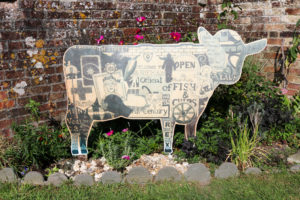 Wareham pound cow display board