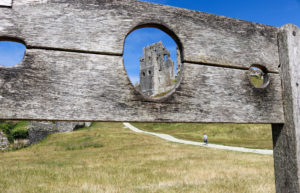 Corfe Castle stocks