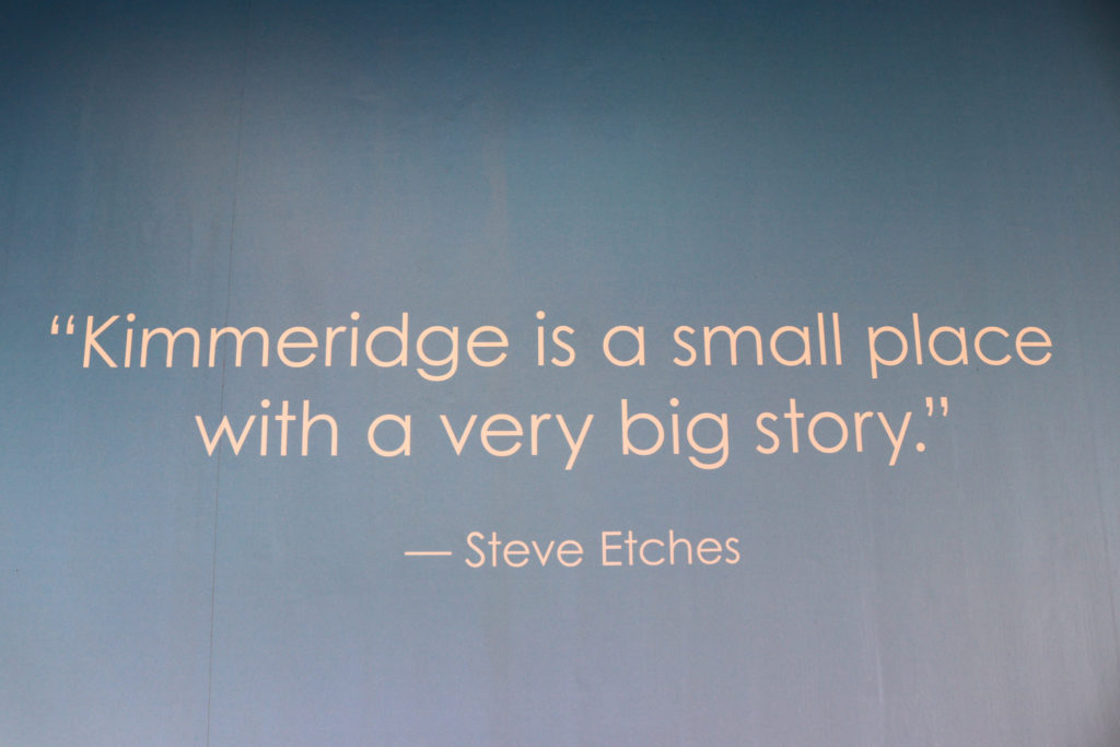 Quote about Kimmeridge by Steve Etches