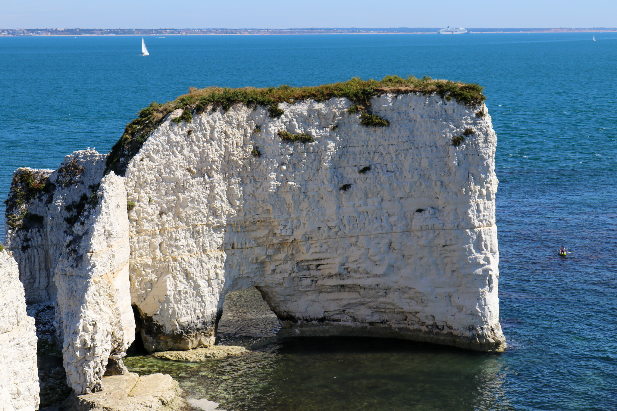Blow hole at Old Harry Rocks