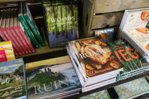 Books in the Corfe Castle National Trust shop