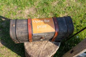 Corfe Castle rune challenge prize box