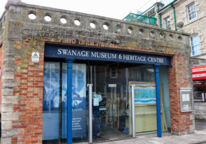 Entrance to Swanage museum