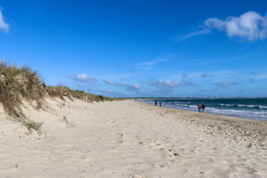 Sandy beach at Knoll Beach, Studland