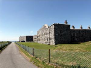 Fort at Tregantle, MoD land, Cornwall
