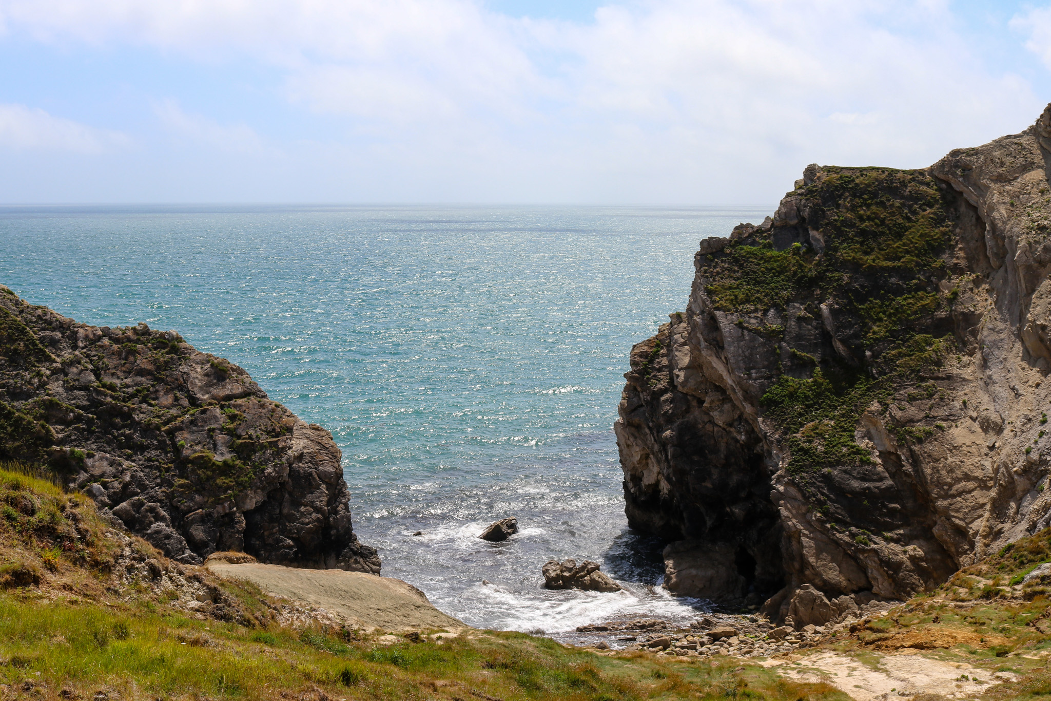 Small bay to the right of Stair Hole, Lulworth