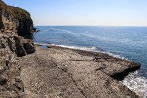 Flat rock shelf of Dancing Ledge, Purbeck