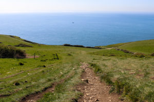 Pathway down to Dancing Ledge