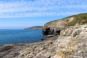 Quarry caves and headland, Dancing Ledge
