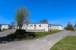 Static caravans at the Ulwell Holiday Park in Swanage