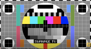 Title screen of Swanage TV on YouTube