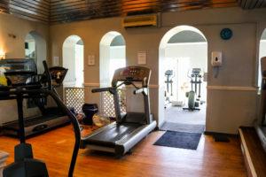 Running machine, Swanage Burlington Club
