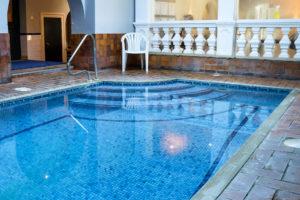 Burlington Club, Swanage, plunge pool