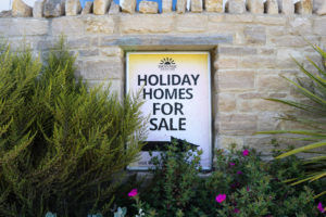Sign for Holiday Homes For Sale at the Swanage Coastal Park