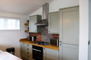 Kitchen cooking area, Swanage Coastal Park