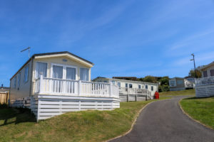 Self-catering mobile homes at the Swanage Coastal Park