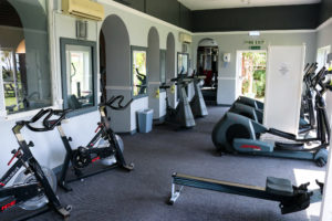 Exercise bikes and workout machines, Swanage Grand hotel