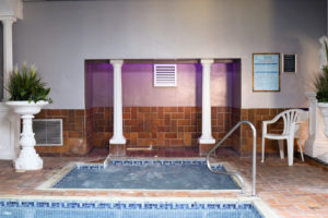Jacuzzi at the Grand Hotel in Swanage